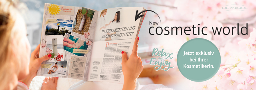 DEYNIQUE NEW cosmetic world Ausgabe Sommer 2020
